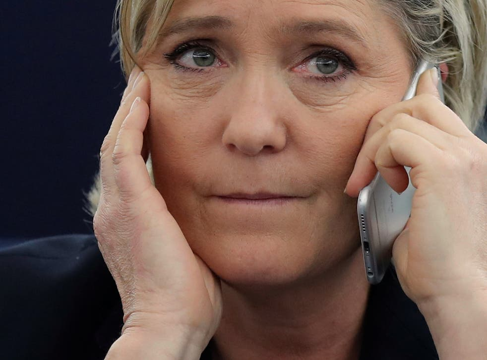 Ms Le Pen had until the end of Tuesday to repay the money, but refused to do so, claiming she was the victim of a politically motivated vendetta