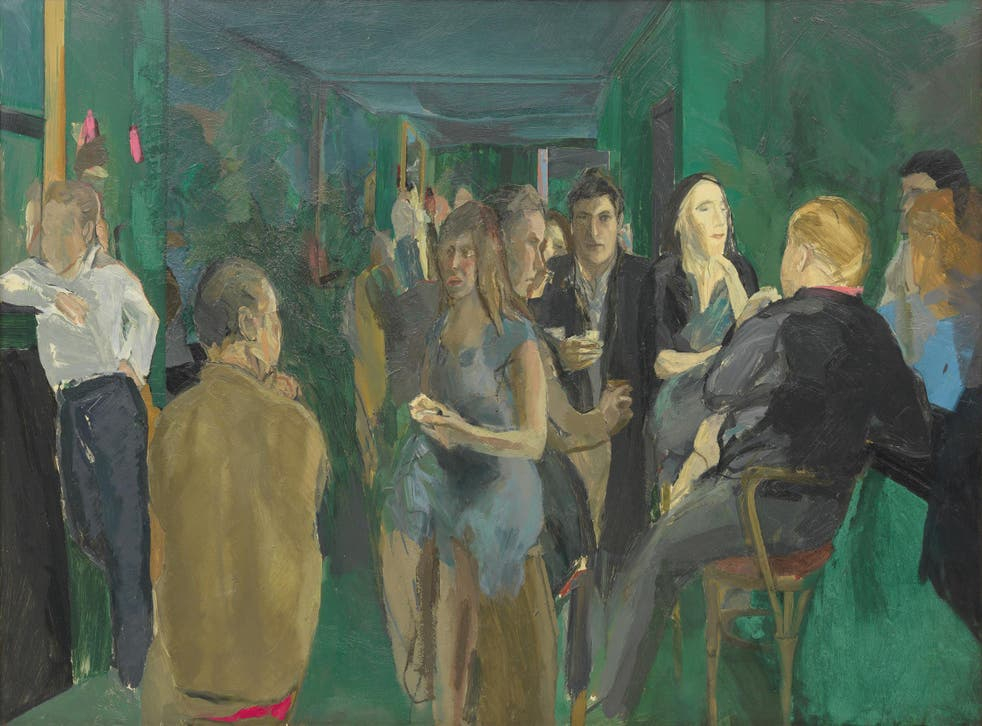 Michael Andrews 'The Colony Room 1', 1962, oil on board