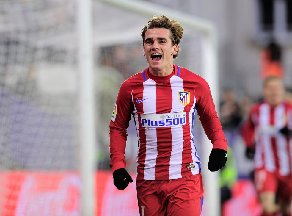 Griezmann is United's priority transfer target for the summer window