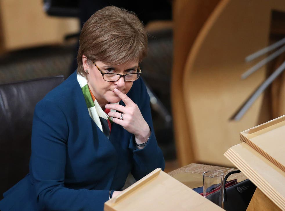 Nicola Sturgeon has repeatedly suggested that Brexit  would ramp up Scotland's case for independence