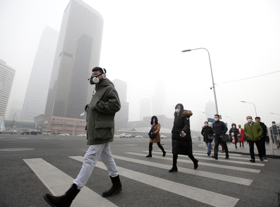Almost three years since the nation 'declared war' on pollution, stretches of the country remain plagued by smog