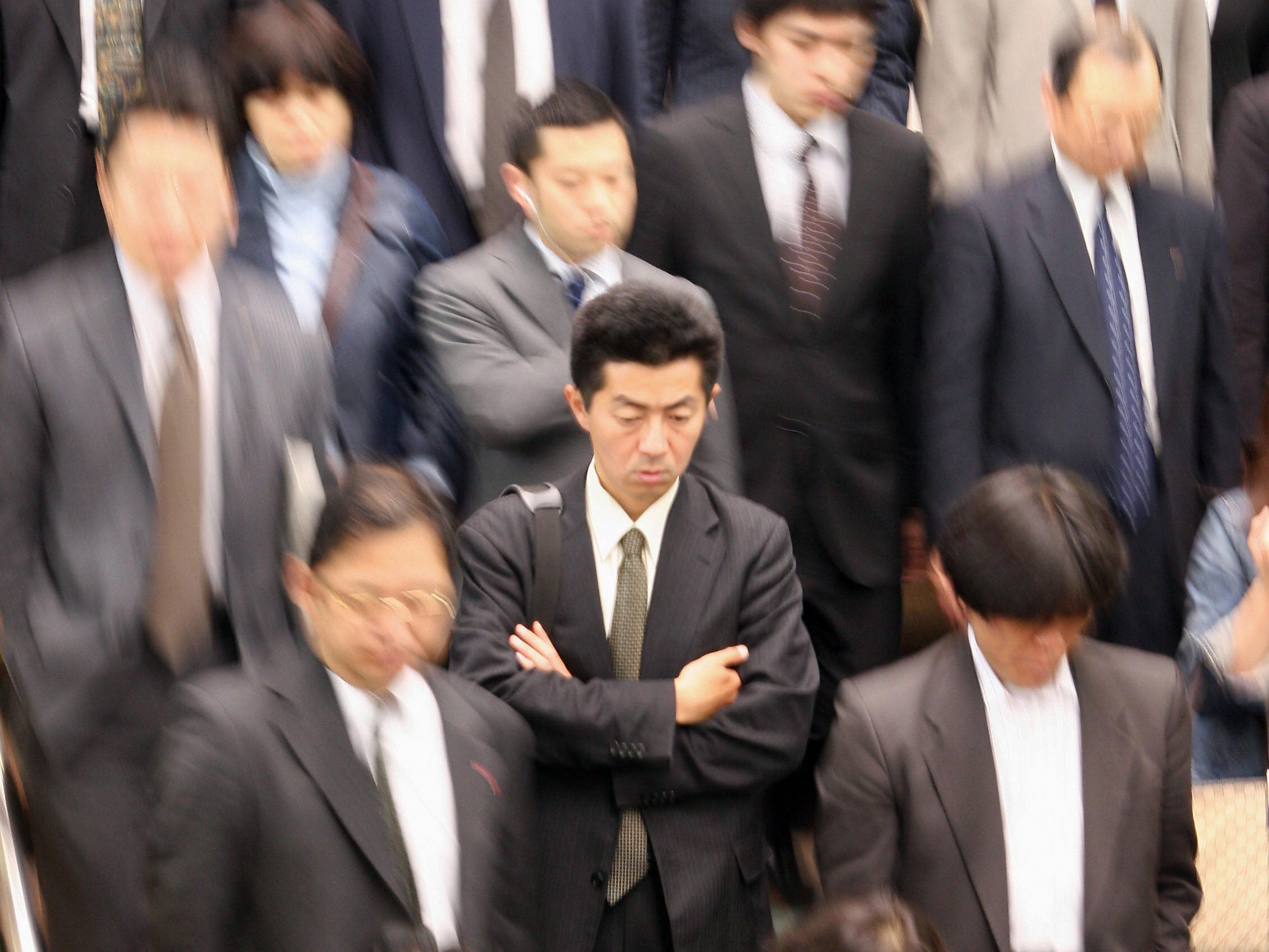 Japanese Government Tells People To Stop Overworking To Combat Death
