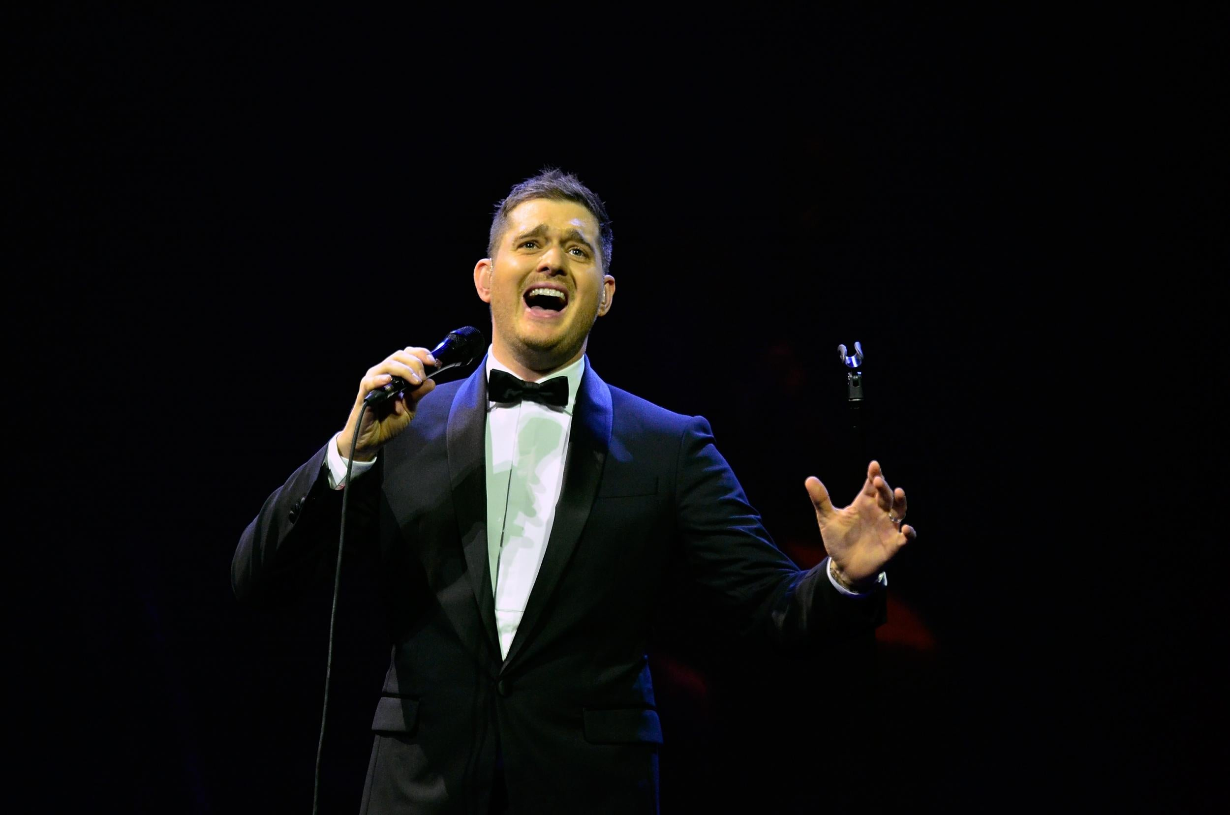 michael buble has announced a uk tour heres how to get tickets