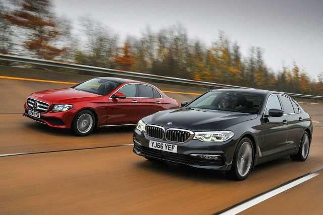 New bmw 5 series goes up against the mercedes e class for Mercedes benz e series 2017