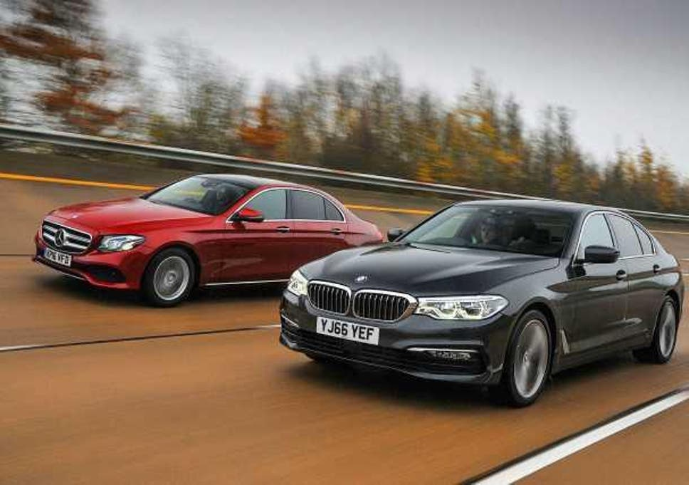 New Bmw 5 Series Goes Up Against The Mercedes E Class The Independent