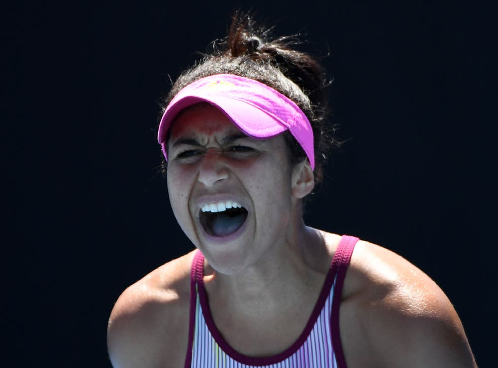 Heather Watson suffered an agonising three-set defeat by Jennifer Brady to bow out of the Australian Open