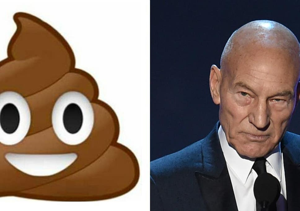 Sir Patrick Stewart Discusses Why Playing The Poop Emoji Means So
