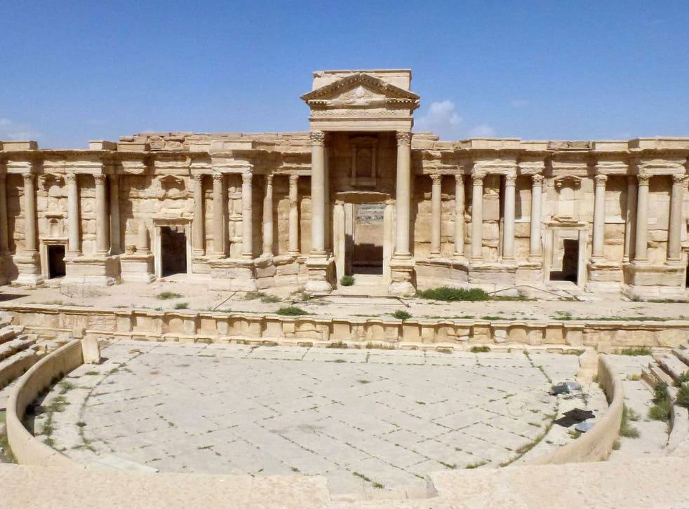 The Roman theatre in the ancient Syrian city of Palmyra has been used to stage public executions by Isis