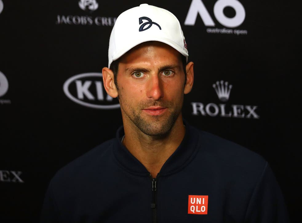 Novak Djokovic defended his motivation for this year's Australian Open after suffering a second round defeat