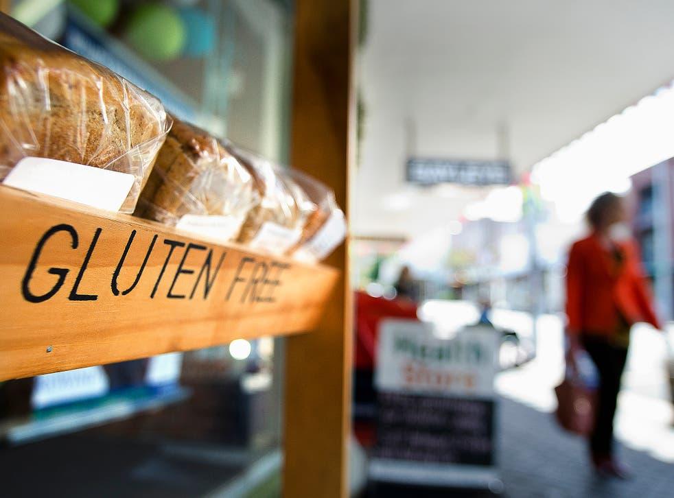 Gluten free grocer shop