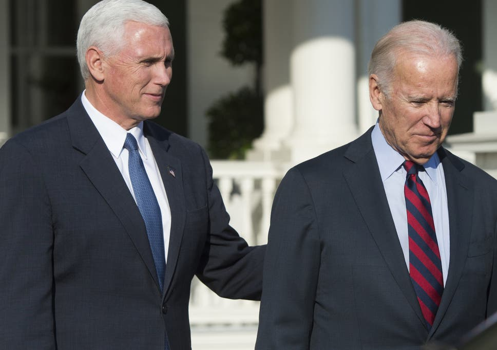 mike pence thanks barack obama and joe biden for their cooperation