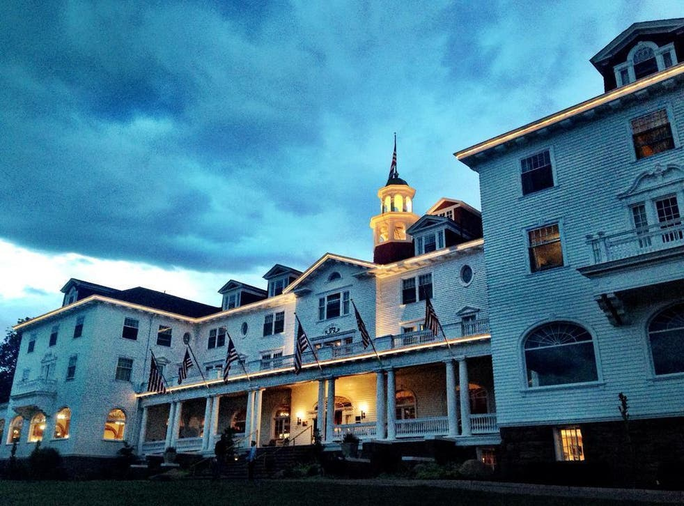 The Stanley Hotel is said to be the most haunted hotel in America