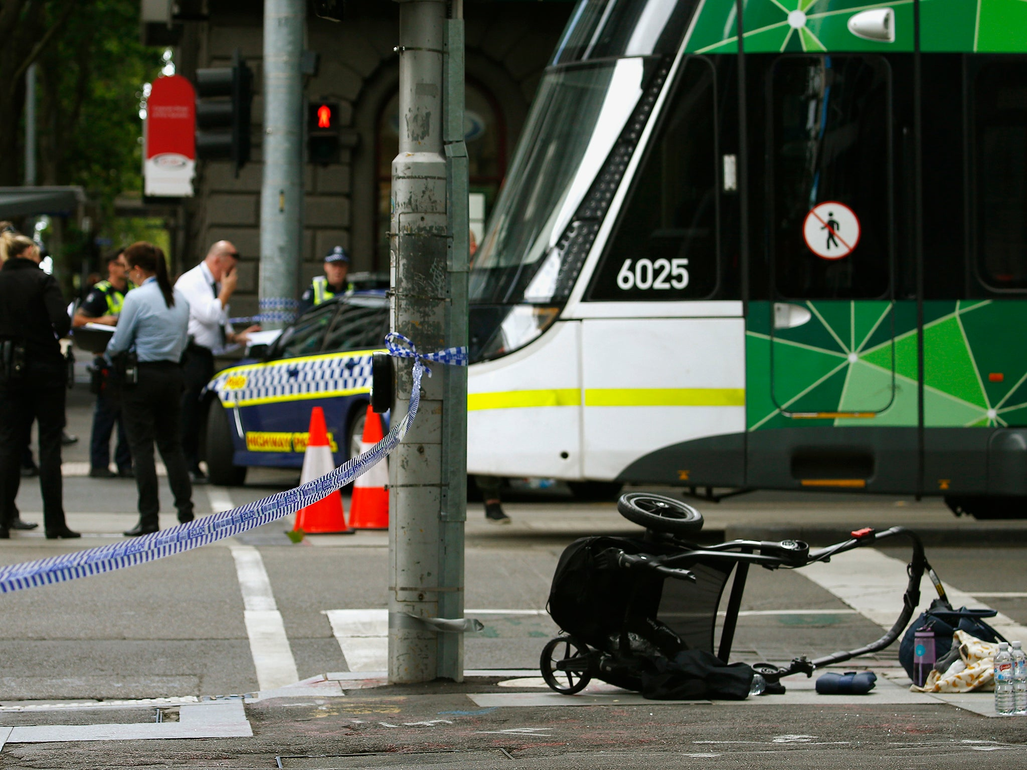 Child among four killed as car ploughs into crowd of pedestrians in melbourne the independent