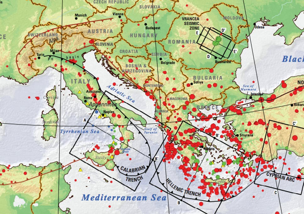 Italy Earthquakes Why The Country Gets So Many Of Them And How To