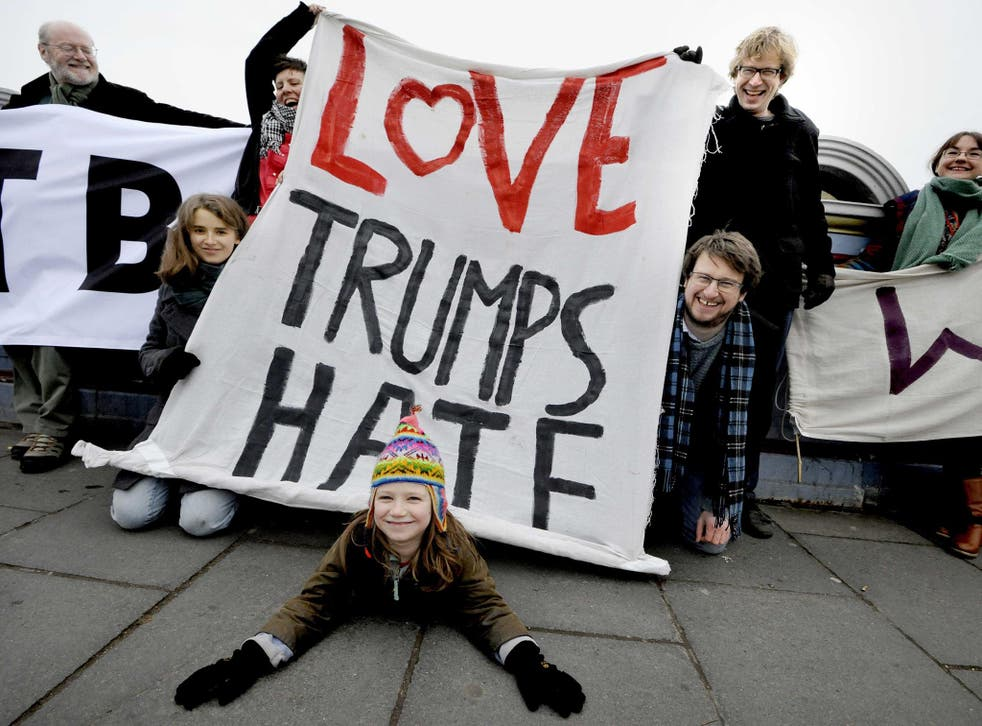 Protests against Donald Trump's inauguration have been happening all week and are set to continue into the weekend