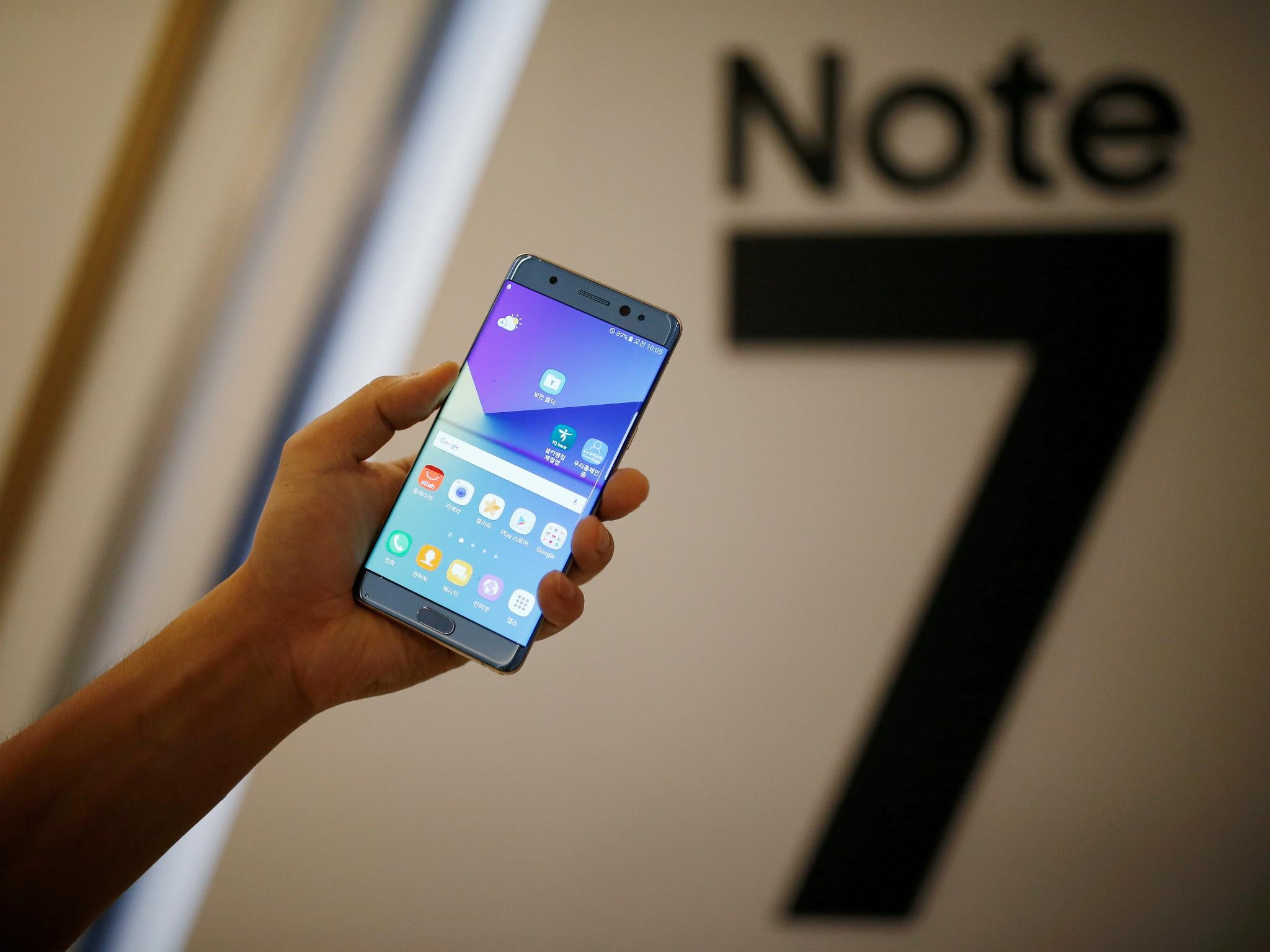 Note 7 : Samsung set to blame manufacturing partners for exploding smartphone