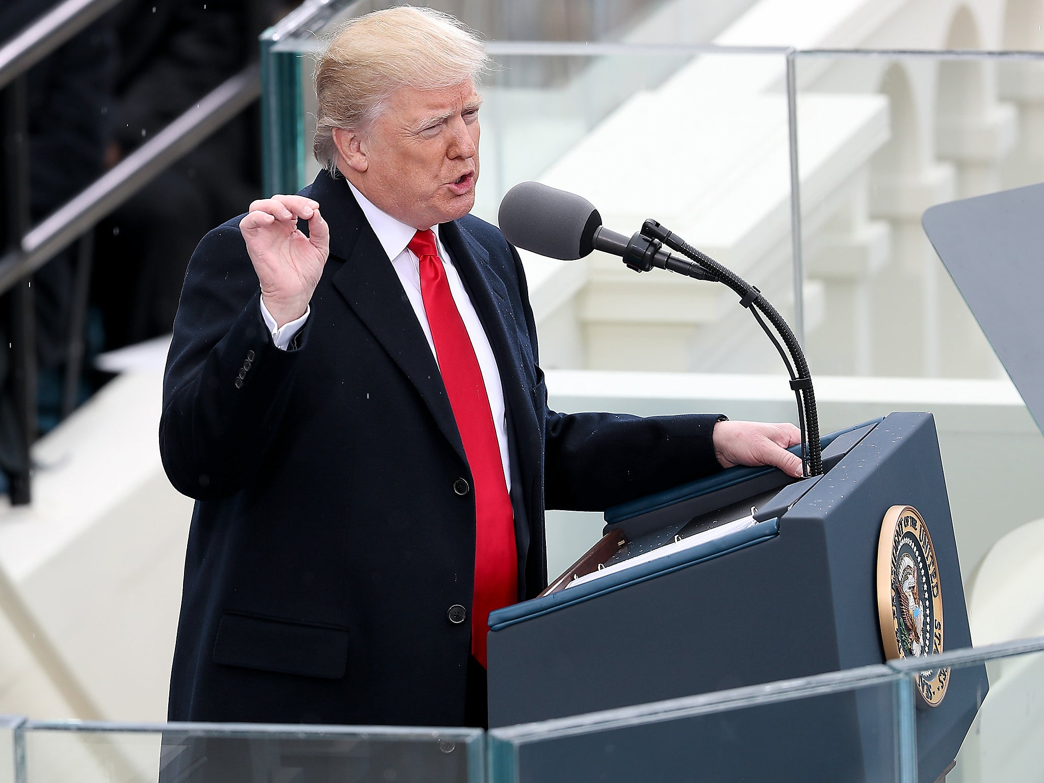 Trump inauguration speech: Read full transcript