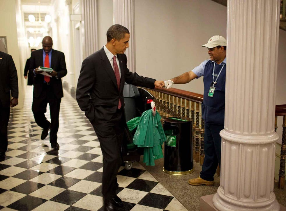 Mr Obama promised he would keep fighting for the issues he cared about as a citizen
