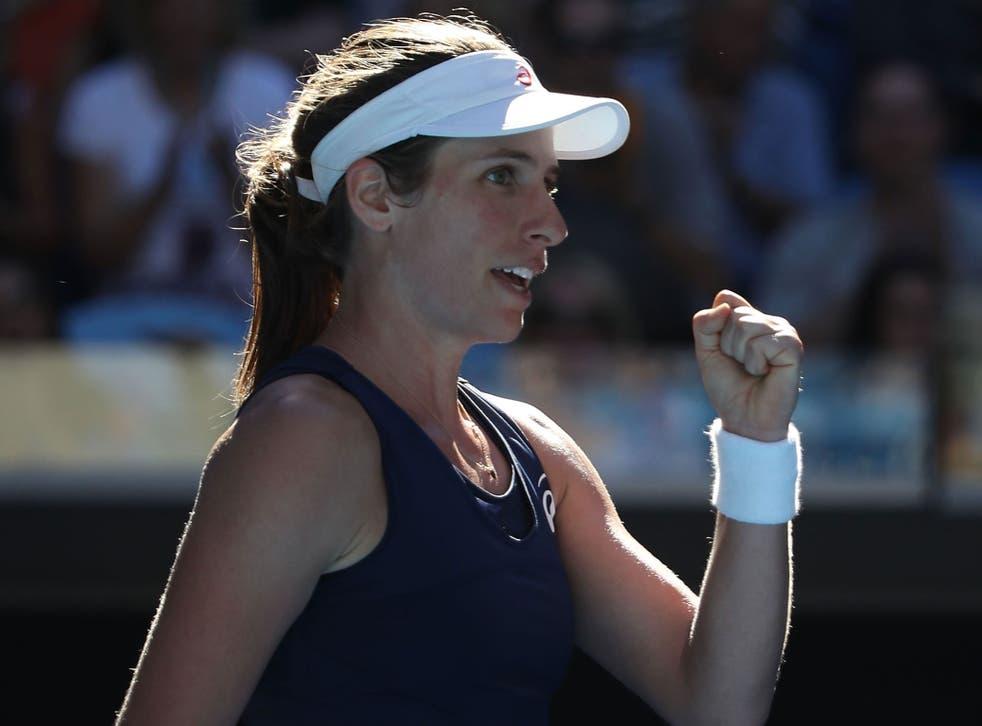 Johanna Konta dispatched Caroline Wozniacki with ease in their Australian Open third round encounter