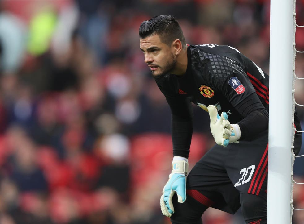 Romero has only made four Premier League appearances for United