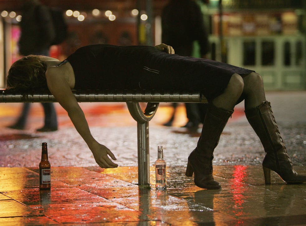 Around 14 per cent of men aged 25-34 thought a woman who had been drinking was totally to blame for being sexually assaulted