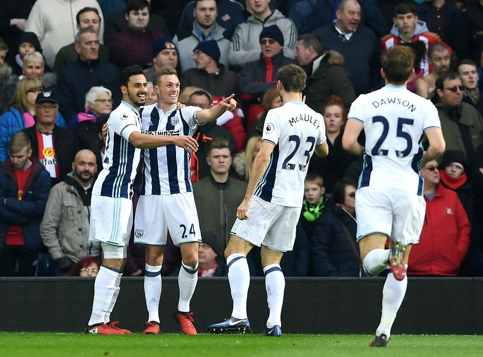 West Brom returned to winning ways after their heavy defeat to Spurs