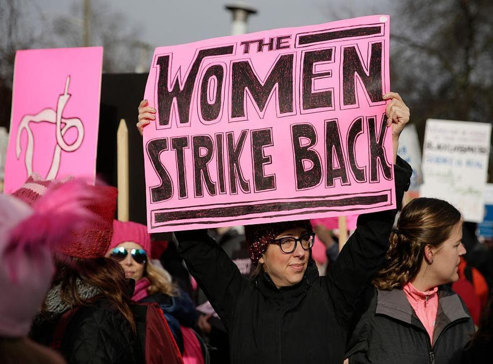 A Day without a Woman is led by organisers of the colossal Women's March on Washington in January