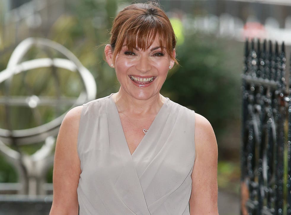 Lorraine Kelly said the continued existence of homelessness in Britain was 'shameful'
