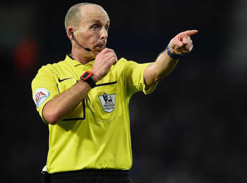 The referee has made a series of errors in recent weeks