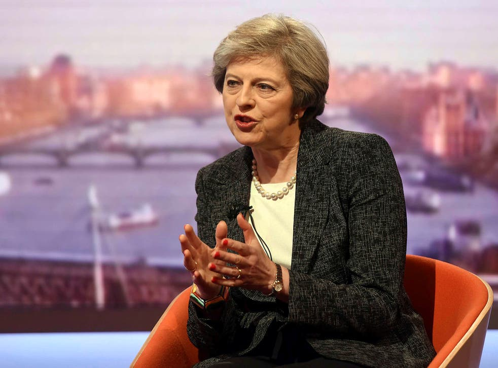 The Prime Minister discussing – or rather, not discussing – the Trident malfunction on 'The Andrew Marr Show'