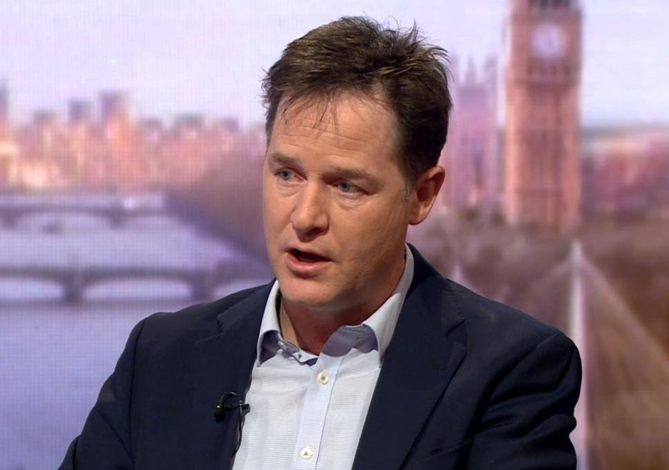 Nick Clegg deserves to be given a knighthood – the Liberal