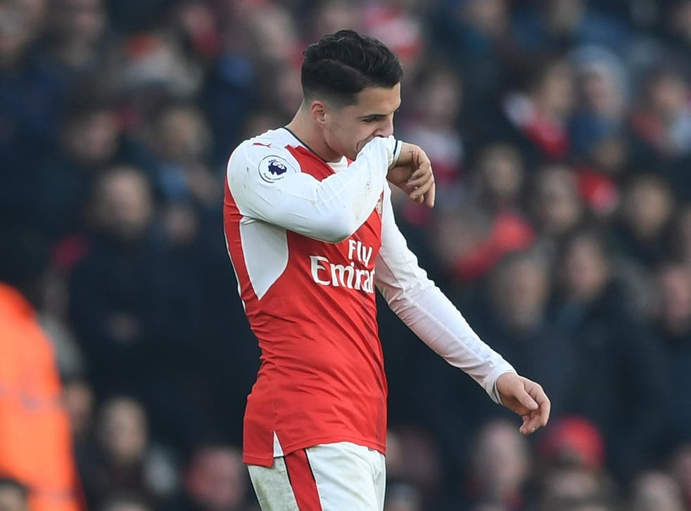 Granit Xhaka was interviewed under caution by police after an incident at London Heathrow airport