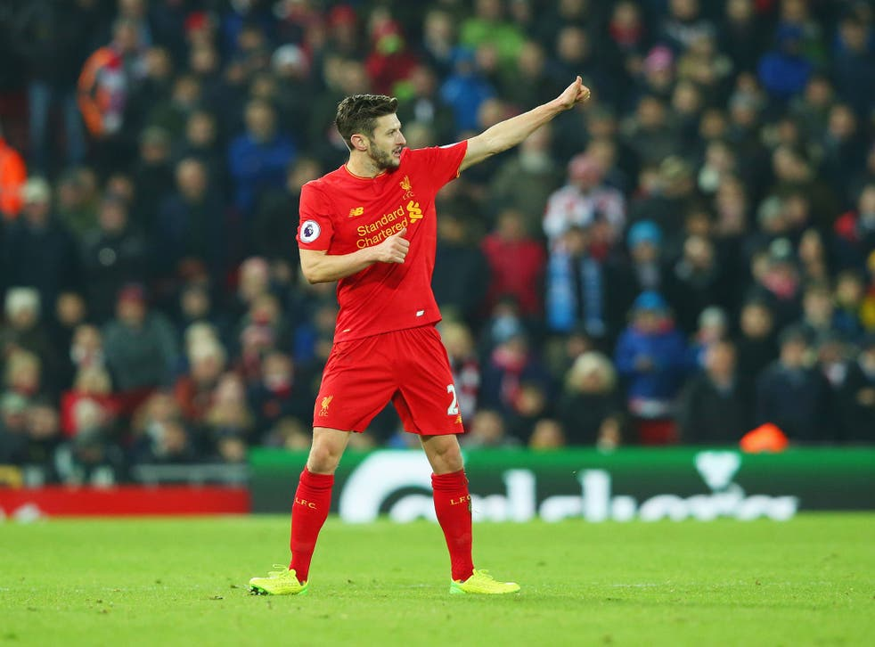 Lallana has been linked to Ligue 1 side PSG