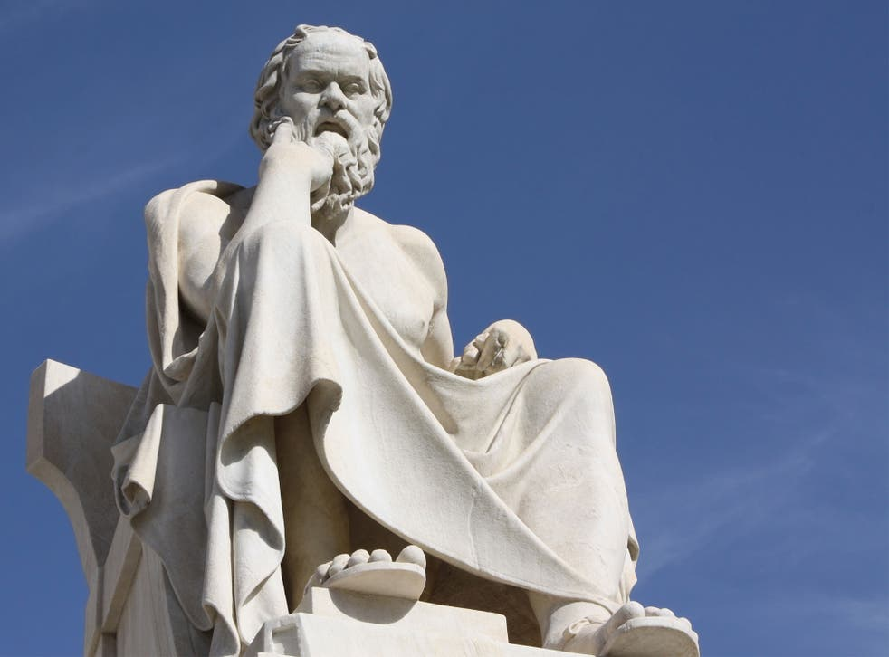Socrates, a classical Greek philosopher credited as one of the founders of Western philosophy