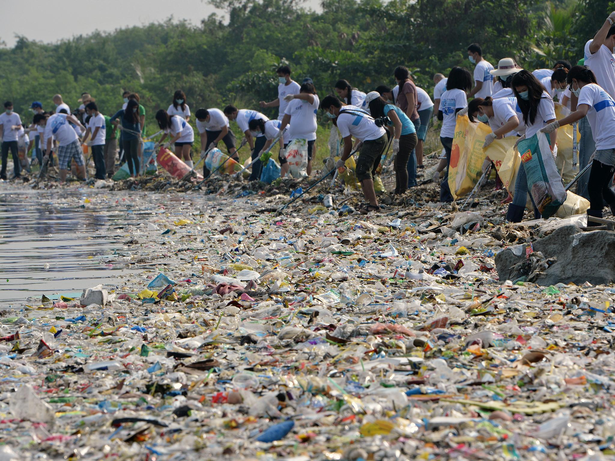 Why we need to recycle plastic and not add to the eight million