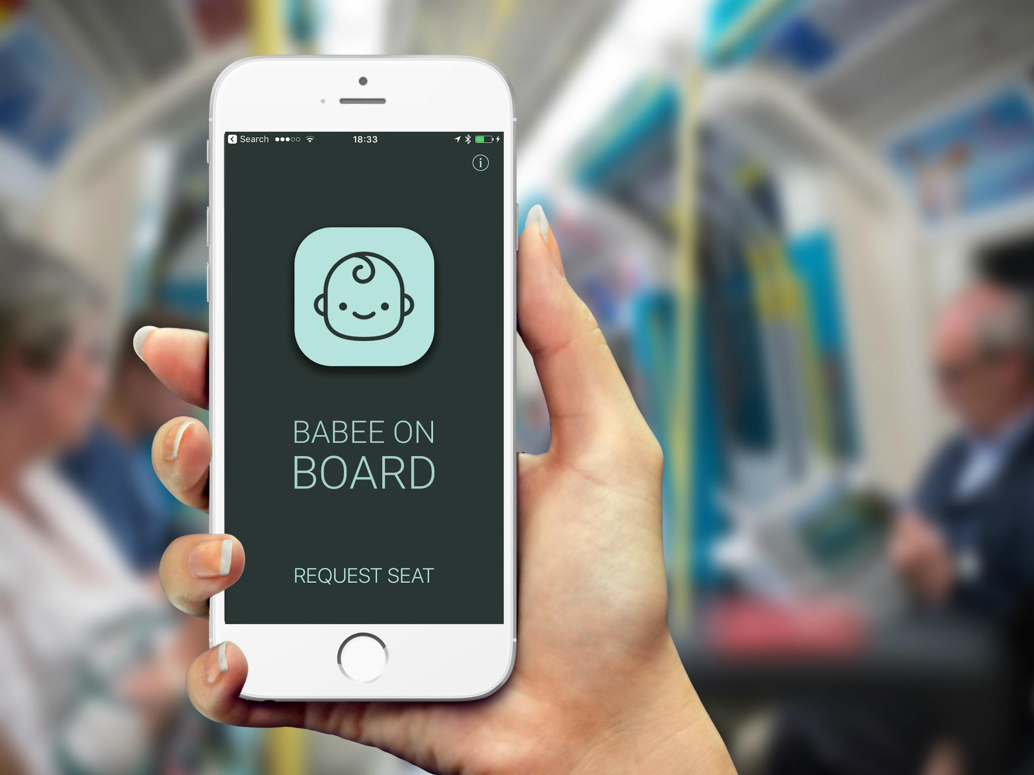 New App Helps Pregnant Commuters Find a Seat on Public Transport, but it Needs your Help