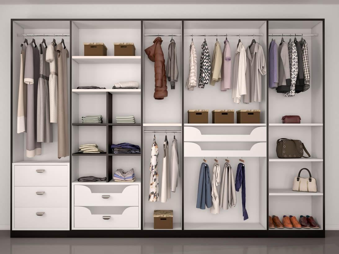 The ultimate guide to spring cleaning your wardrobe the for Wardrobe interior designs catalogue