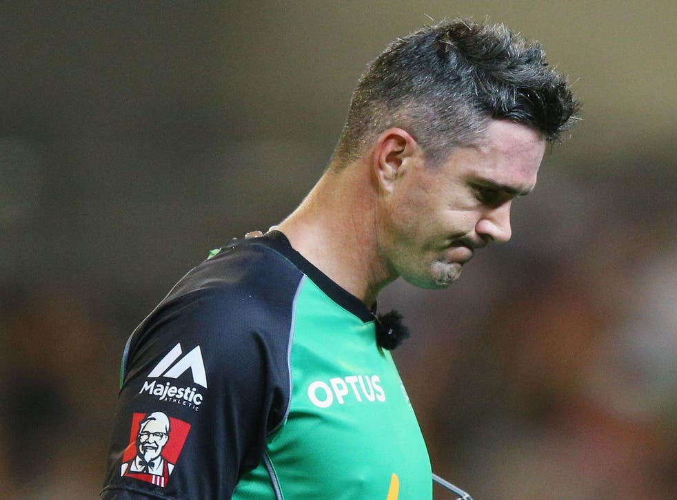 Pietersen was out for five as his Stars side were thrashed by seven wickets