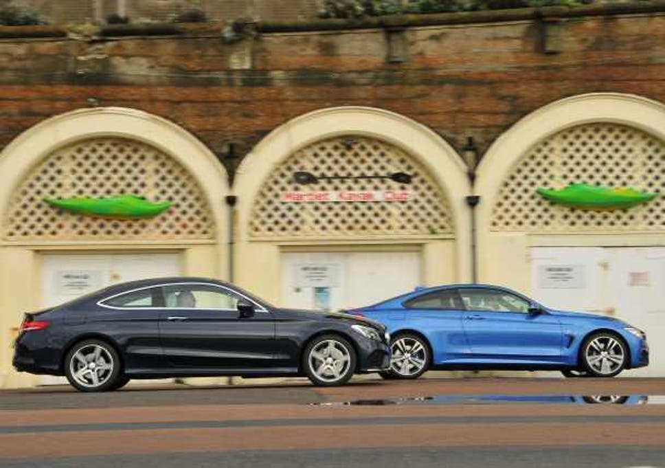 BMW 4 Series Coupe versus Mercedes C-Class Coupe | The