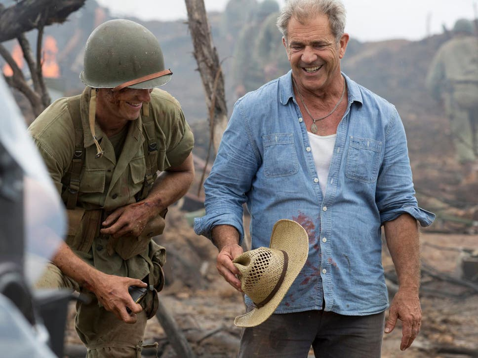 Can you forgive him mel gibsons hacksaw ridge return the independent director mel gibson on the set of his film hacksaw ridge thecheapjerseys Image collections