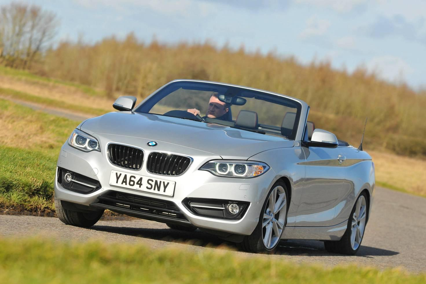 Bmw 2 series convertible reviewed the independent for Bmw living style