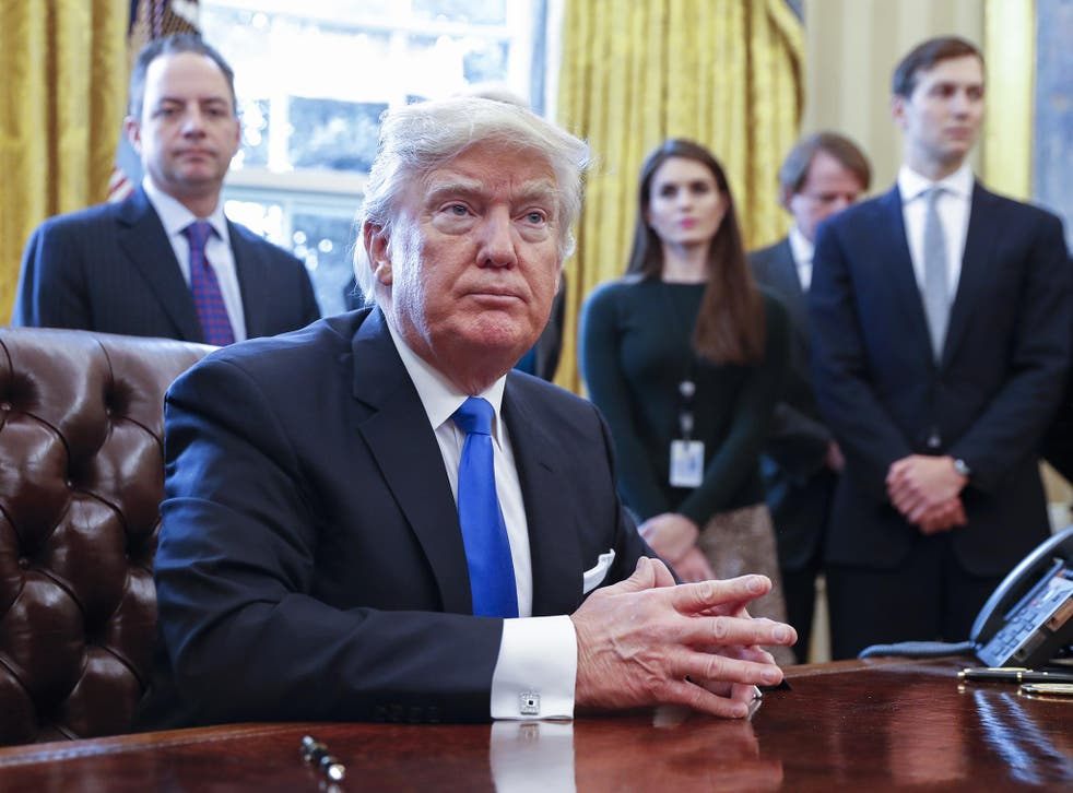 Mr Trump has reinstated the 'global gag rule' which prevents any US funding to NGOs which aid access to reproductive health and contraception services