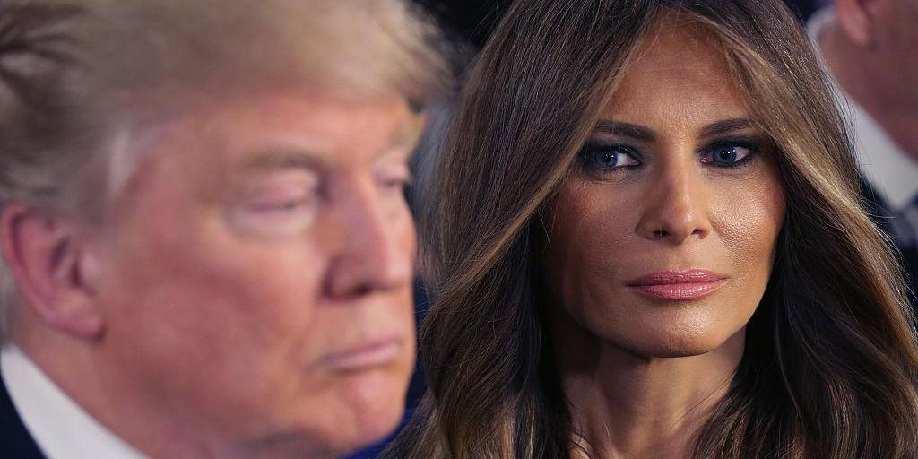 Melania Trump Looking Sad Has Become A Meme And We Can T Look Away Indy100