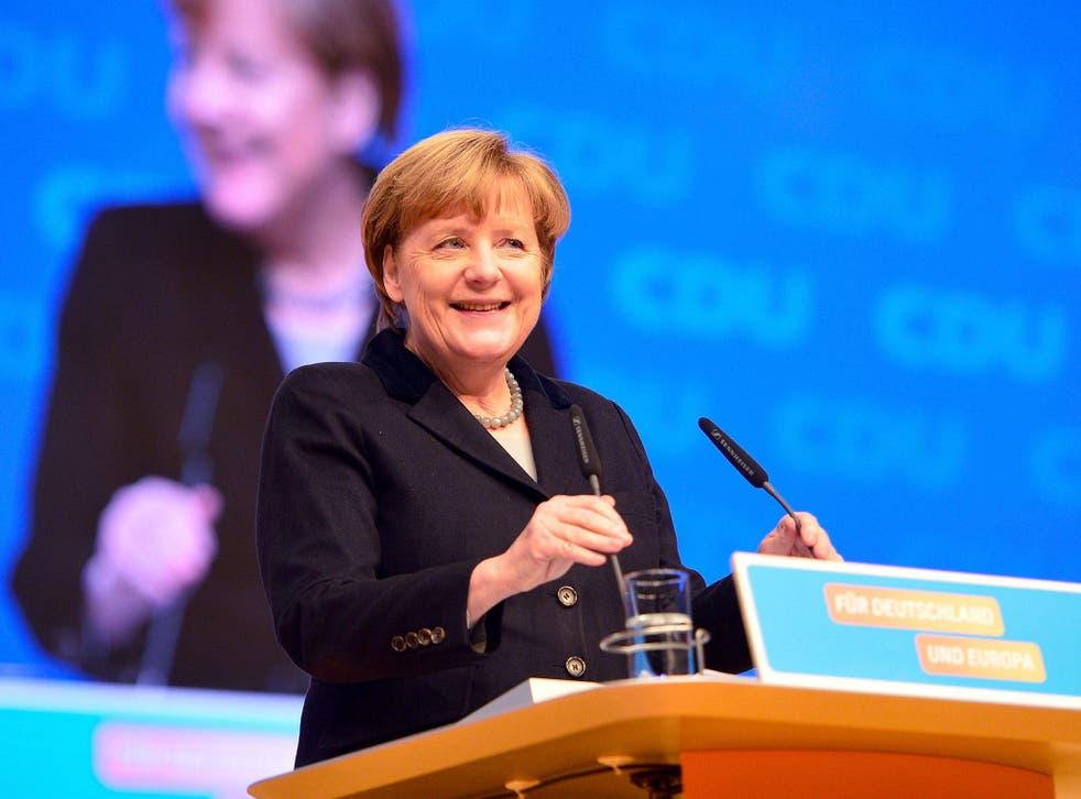 Merkel fakes angela Merkel Successor