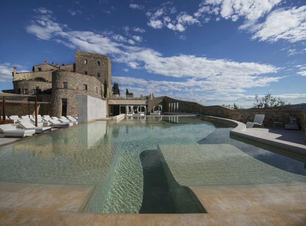 You're on top of the world at the Castello di Velona in Tuscany