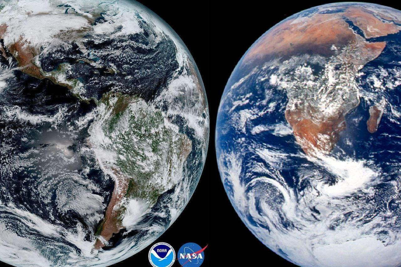 Two Pictures Of The Earth That Will Shock You Into Silence