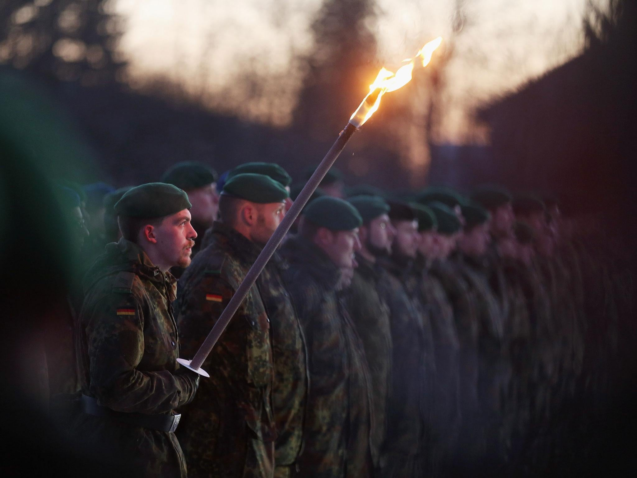Army color casing ceremony script - German And Belgian Nato Troops Arrive In Lithuania Amid Growing Russia Security Fears The Independent