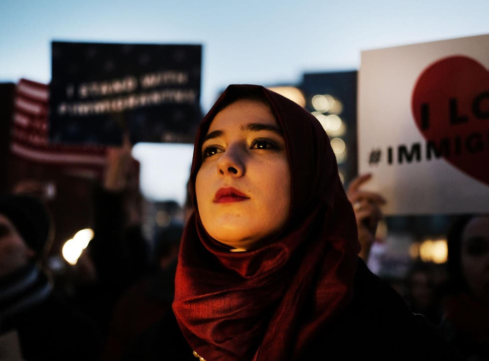 Mr Trump first promised to ban Muslims in December 2015. He got his wish just 13 months later