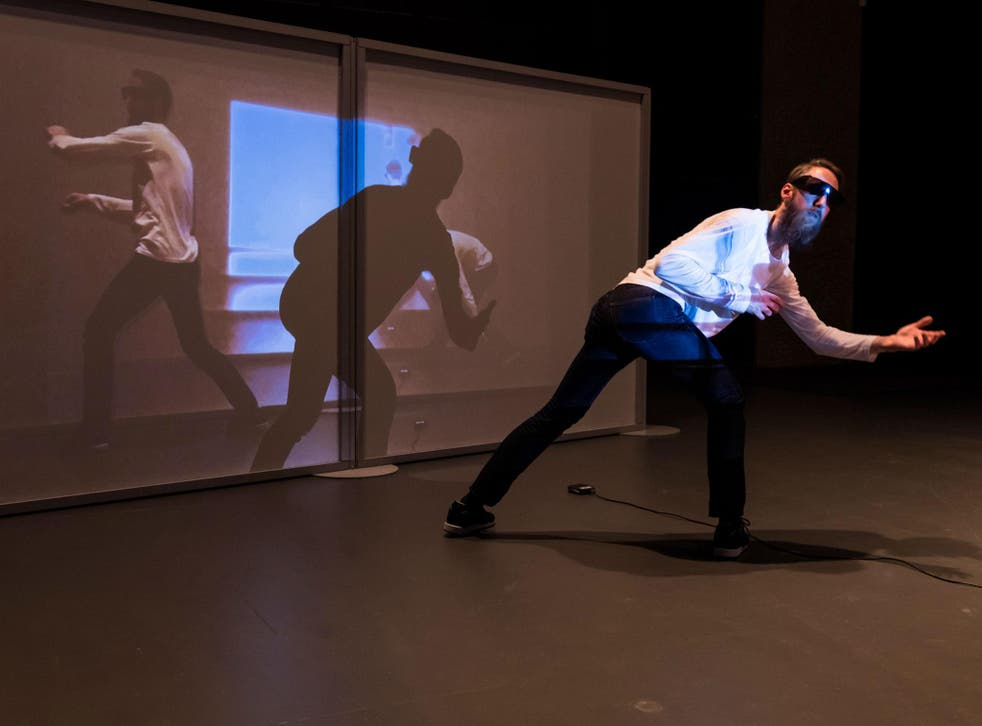 Body talk: the installation steps beyond cliché and subverts the concept of 'performance'