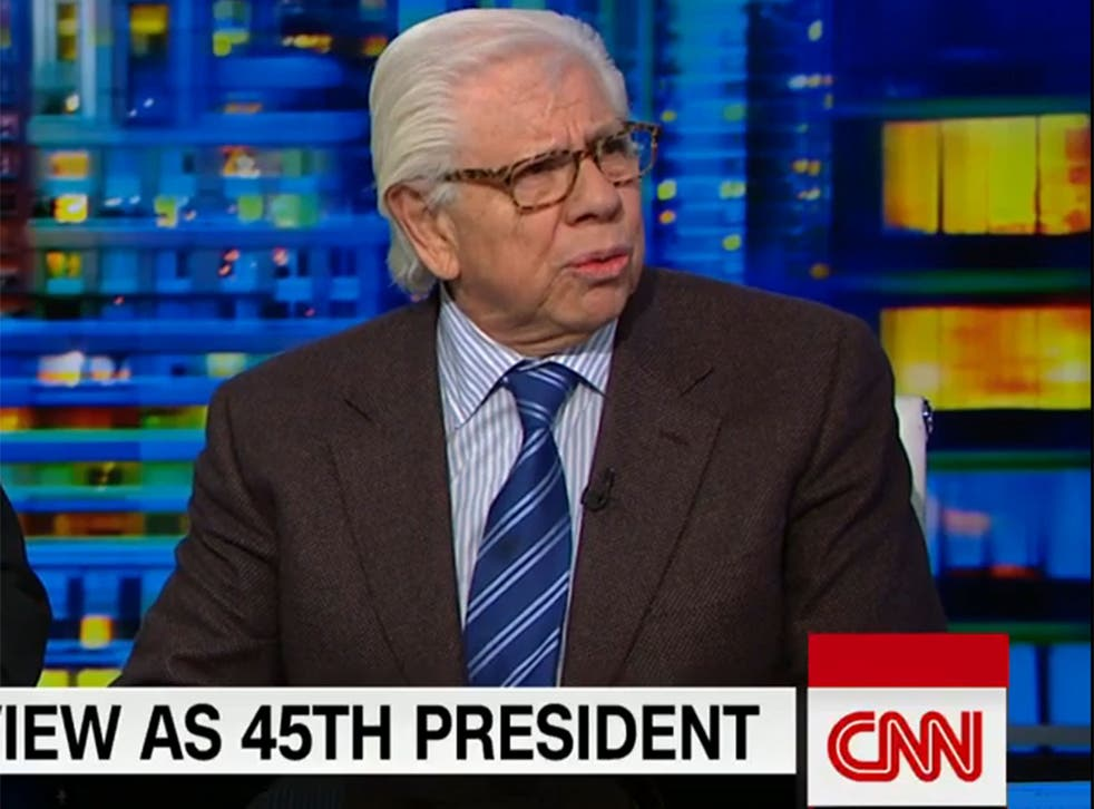 Carl Bernstein told CNN he believes the Trump administration is involved in a 'cover-up'